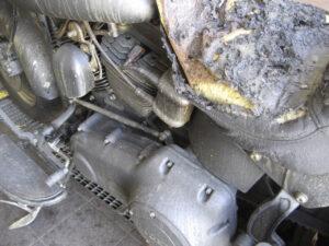 Harley-Brandschaden-Sanierung-Trockeneis