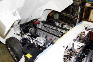 Jaguar E-Type Restaurierung Motor