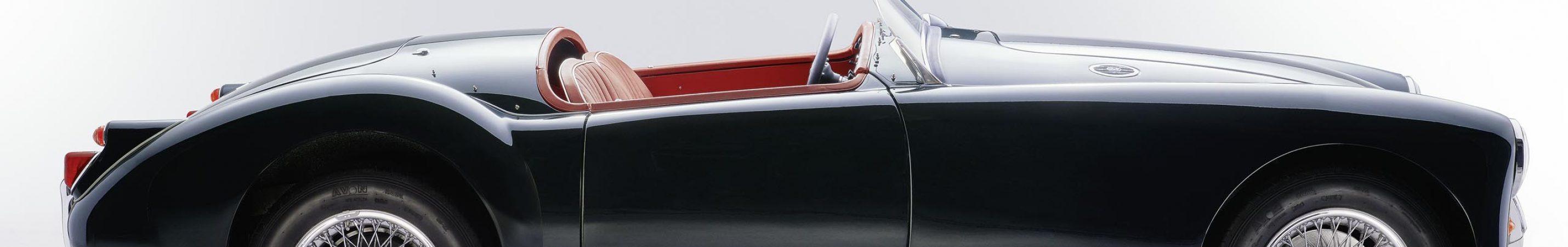 Der MGA Speedster - für uns ein Paradebeispiel perfekter Restaurierung und Konservierung